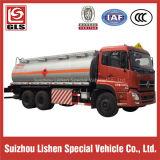 6X4 Dongfeng 15000L 기름 연료 탱크 트럭