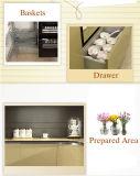Laca de alto brillo en 2 gabinetes de cocina Pack (zz-023)