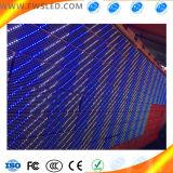 Única linha placa do Signage ao ar livre impermeável do diodo emissor de luz de indicador do diodo emissor de luz