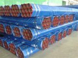 Tubulação de aço pintada vermelha galvanizada sem emenda de FM para o sistema da luta contra o incêndio do sistema de extinção de incêndios