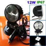 3.3 12W des runden Mini-LED Arbeits-Zoll Licht-(CH-WL-014-12W)