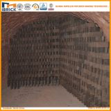 Estufa híbrida despedida carvão de Hoffman do tijolo da argila de Hhk da grande capacidade