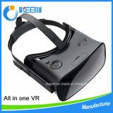 Tutti in un Vr, vetri di Google 3D di realtà virtuale, casella di Vr