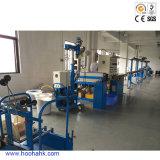 Única máquina da extrusão de cabo do revestimento do PE do parafuso e do PVC