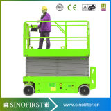 8m tot 12m Gemotoriseerde Battery Operated Man Lift Platforms