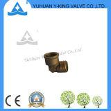 Ajustage de précision en laiton de té de tuyauterie de Plsting de chrome (YD-6028)