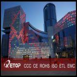 Schermo gigante della facciata LED di media P100