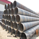 Chaud plongé galvanisé autour des tubes/des pipes en acier pour le matériau de construction