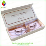 Rigid élégant Packaging Folding Eyelash Box avec Magnet