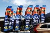 Neue Tendenz-Strand-Markierungsfahne, Feder-Markierungsfahnen-Fahne