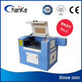 Máquina de gravura plástica acrílica de borracha do tanque de peixes de Ck6040 60W