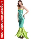 セクシーな女性Halloween党のための海の人魚のCosplayの衣裳