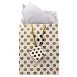 금속 금 선물 부대, 생일, 눈금, 베비 샤워, 결혼 선물 부대, 종이 봉지
