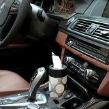 Papel del vehículo cilíndrica caja de pañuelos caja de la toalla para todos los coches