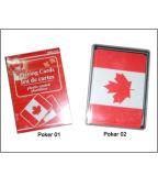 Schürhaken überzogenes Plastikplayingcards