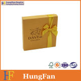 Het gouden Vakje van de Chocolade van de Druk van het Document Verpakkende