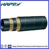 Flexibler hydraulischer Gummihochdruckschlauch SAE100/DIN En853 R2