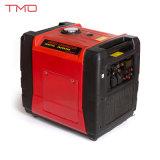 generatore economico in consumo di carburante leggero calmo eccellente 120/240V dell'invertitore 5000W con l'affissione a cristalli liquidi del video