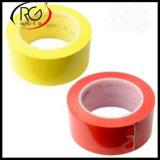 La cinta estática anti de la fluorescencia del PVC, papel del desbloquear, crece en cinta oscura