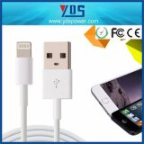 câble de caractéristiques rond du câble USB de chargeur de téléphone mobile de 1m pour l'iPhone d'Apple 5 6