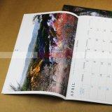 Impression de calendrier de photographie de calendrier mural de qualité