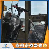 Mini cargador articulado de las partes frontales del mini cargador de la rueda