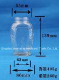 Vaso dell'ostruzione dei commerci all'ingrosso di alta qualità per memoria dell'alimento con il coperchio a vite (JH-1237)