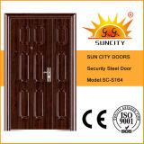 Sc-S164 buen hijo de ventas y Madre de seguridad Puertas de entrada de acero