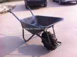 Wheelbarrow durável da construção de Ghana do Sell quente (WB6404H)