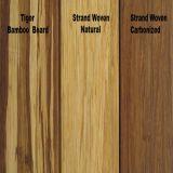Suelo de bambú tejido hilo natural preacabado de la fabricación de China