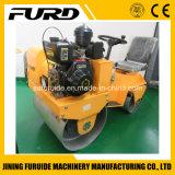 Fahrt auf hydraulische Schwingung der doppelten Trommel-7HP 820 Kilogramm-Straßen-Rolle (FYL-850)