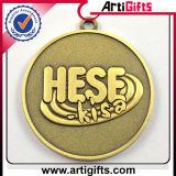 A promoção personalizada ostenta a medalha do metal