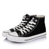 Klassische Mann-und der Frauen beiläufige Segeltuch-Schuhe (BF-C238)