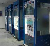 ATM 돈 분배기 간이 건축물 기계