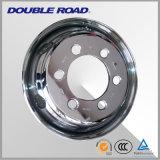 Rodas de roda inoxidáveis para pneu de caminhão radial (8.25X22.5)