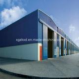 Construção de edifício de aço para a aplicação industrial (KXD-04)