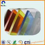 5mmの風防ガラスのゆとりの多彩で高い光沢のあるアクリルPMMAシート