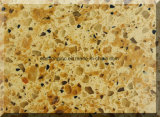 훈장이 건축재료 부엌 Counterop/를 위한 인공적인 돌 널 석영 표면에 의하여 집으로 돌아온다