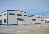 La structure métallique préfabriquée assemblent l'atelier (KXD-SSW1346)