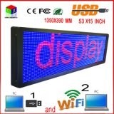 "P10 53 ""X15"" RGB Display a LED all'aperto / / USB / Segni Wireless Mobile Wireless di computer programmabile"