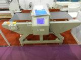 Détecteur automatique d'aiguille en métal de convoyeur de vêtement de textile de convoyeur