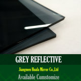 Vidrio reflexivo de cristal del bronce, del gris, del azul, verde y rosado del vidrio de flotador del color de cristal reflexivo gris teñido de cristal