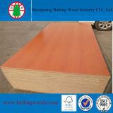 MDF rojo de la melamina de la cereza de 18m m para el uso de los muebles