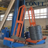 De Rolling Machine van de Koude van de Draad van het staal met Max. Snelheid 6 M/S die in China wordt gemaakt
