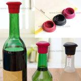 Изготовленный на заказ цветастый силикон стеклянной бутылки пива укупоривает штепсельные вилки