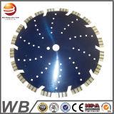 La circular concreta soldada laser combinada de la lámina de piedra universal de Turbo vio la lámina