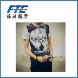 T-shirt promotionnel de tendance/le T-shirt/T-shirt faits sur commande d'hommes