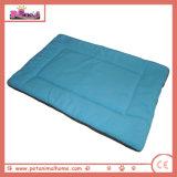 صوف دافئ ليّنة مع خيزرانيّ لين كلب سرير في اللون الأزرق, يتوفّر في 5 ألوان