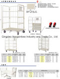 Recipiente logístico do rolo do armazenamento Foldable, pálete do rolo, trole