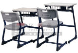 Schule Furniture für School Wooden Single Desk und Chair